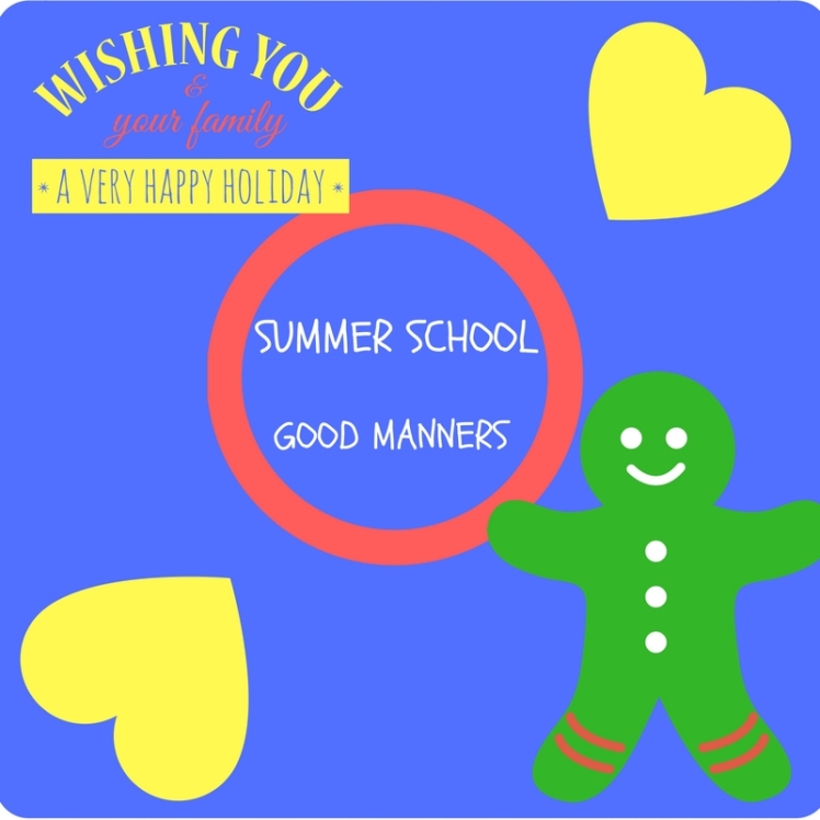 Summer School Manners