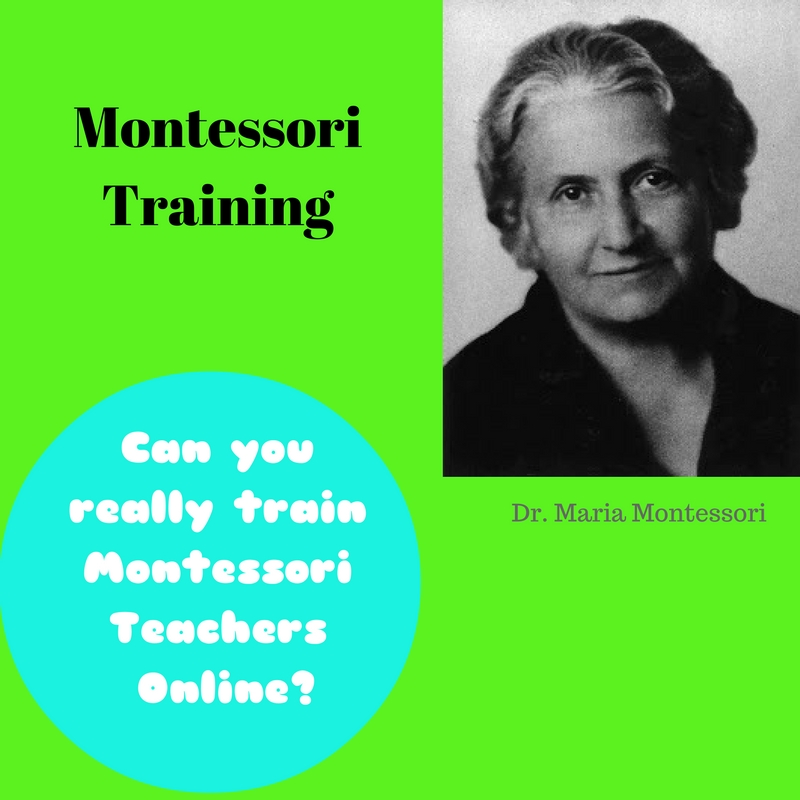 Can Montessori Training be done online?