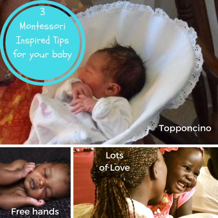 3Montessori Inspired Tipsfor your baby