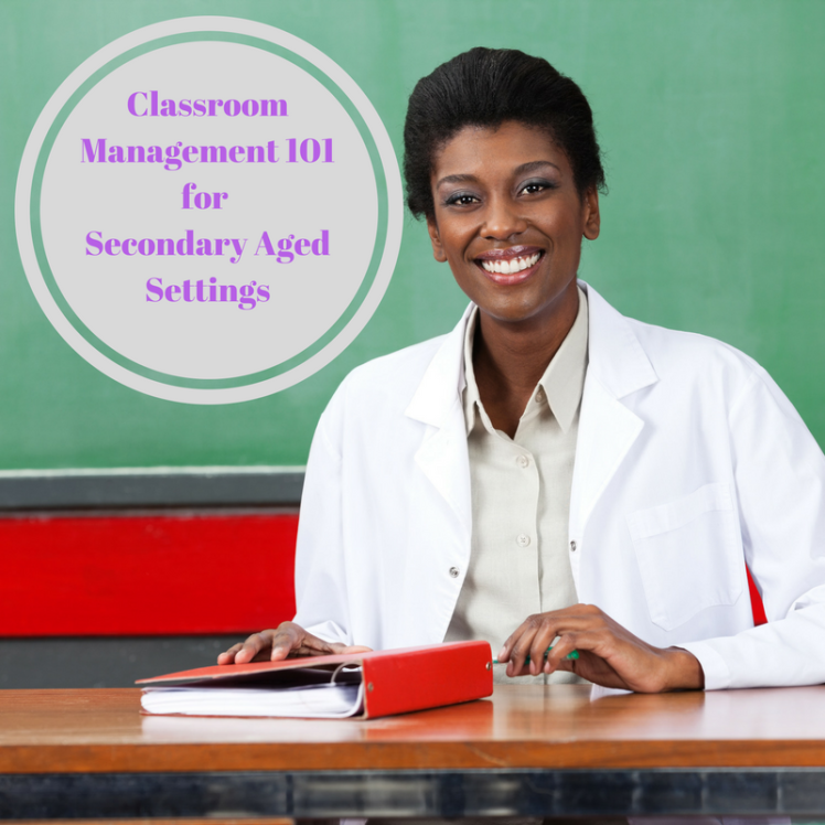ClassroomManagement101 for Secondary AgeChildren (1)